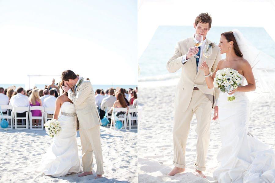 Intimate Wedding On Miami Beach Small Weddings