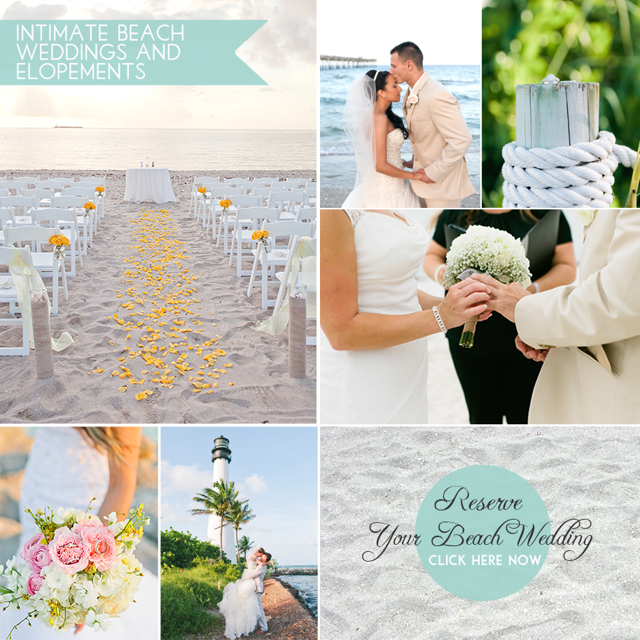 Beach Weddings In Miami Florida: The Premier Source For Intimate And