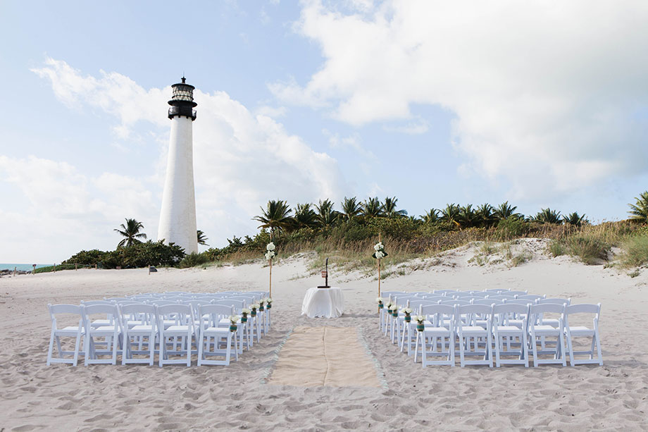 Bill Baggs Cape Florida State Park Lighthouse Wedding