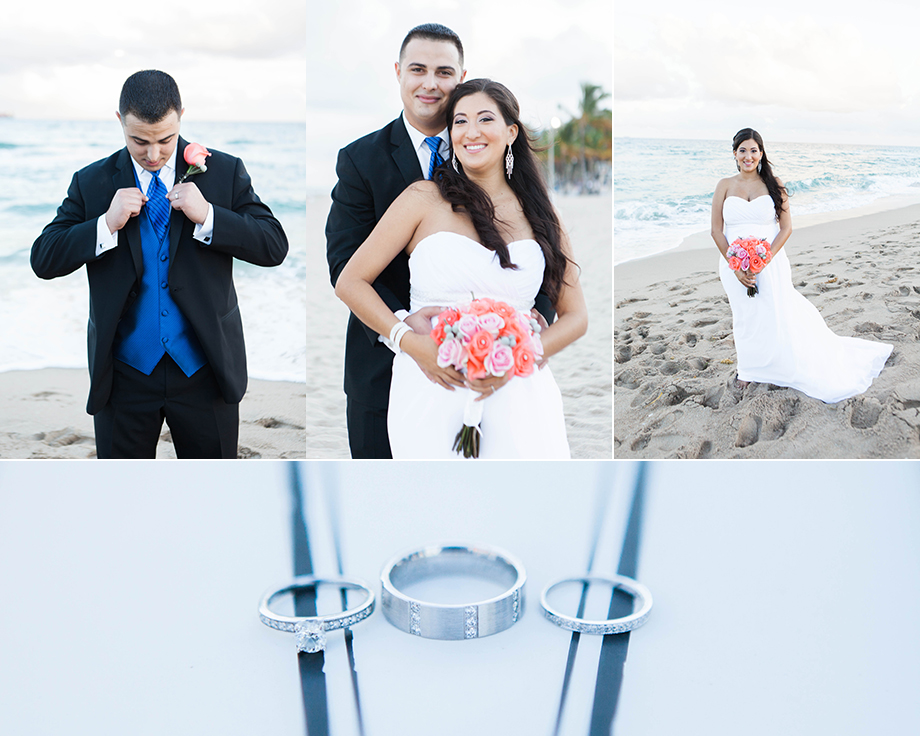 Ft Lauderdale Beach Wedding Carolina And Daniel Small