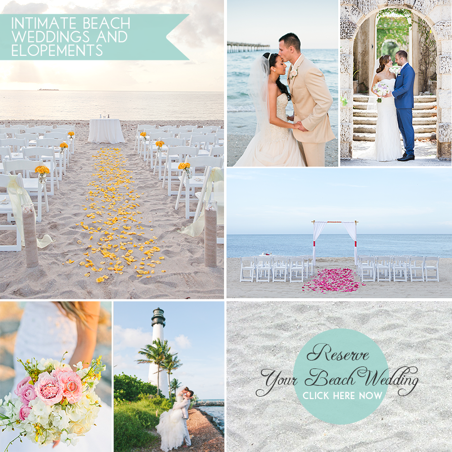 Beach Weddings In Fort Lauderdale Florida Mini Bridal